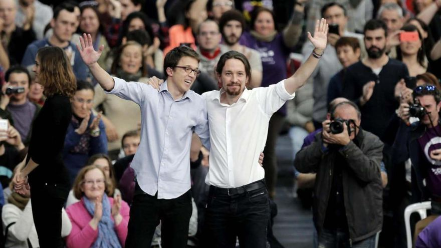 Pablo Iglesias sitúa a Íñigo Errejón fuera de Podemos por aliarse con Manuela Carmena al margen del partido