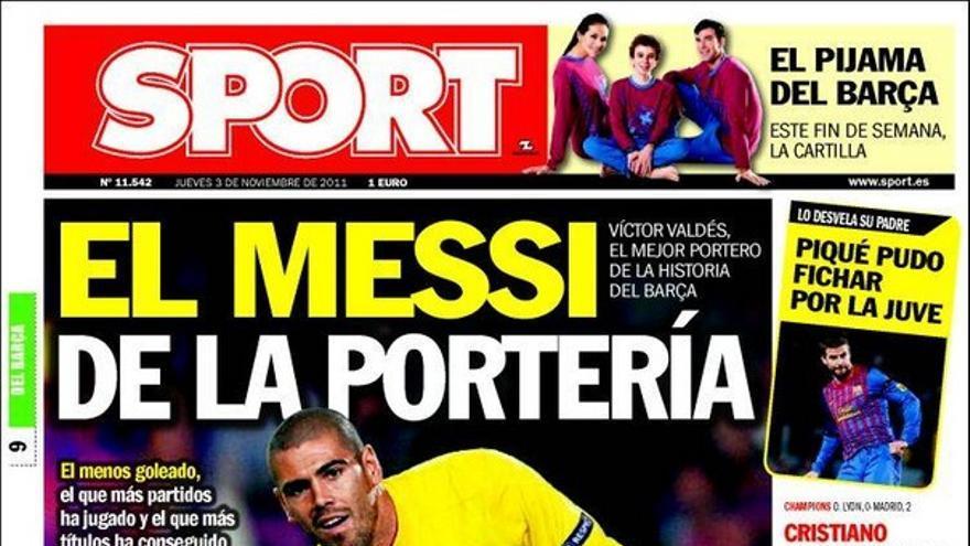 De las portadas del día (03/11/2011) #16