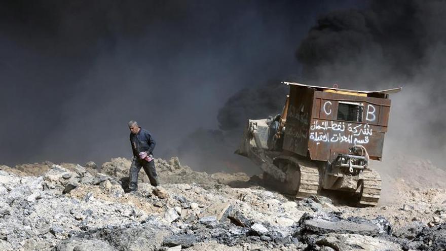 8 muertos en ataques del EI con morteros y coches bomba en el este Mosul