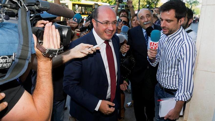 La Fiscalía pide 2 años de cárcel para el expresidente de Murcia Pedro A.Sánchez