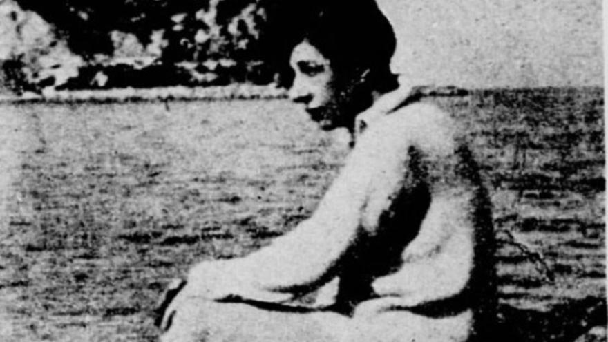 Última imagen que se conserva de Renée Lafont | LE MONDE ILLUSTRÉ