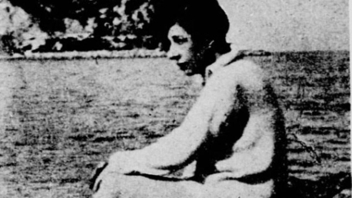 Última imagen que se conserva de Renée Lafont