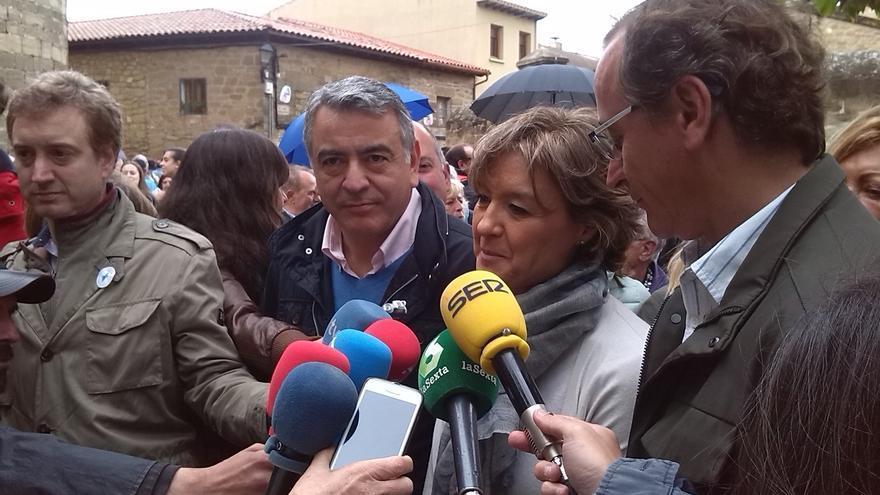"""Alonso (PP) asegura que """"más España es bueno para los vascos"""" y critica a quienes quieren """"romper y dividir"""""""