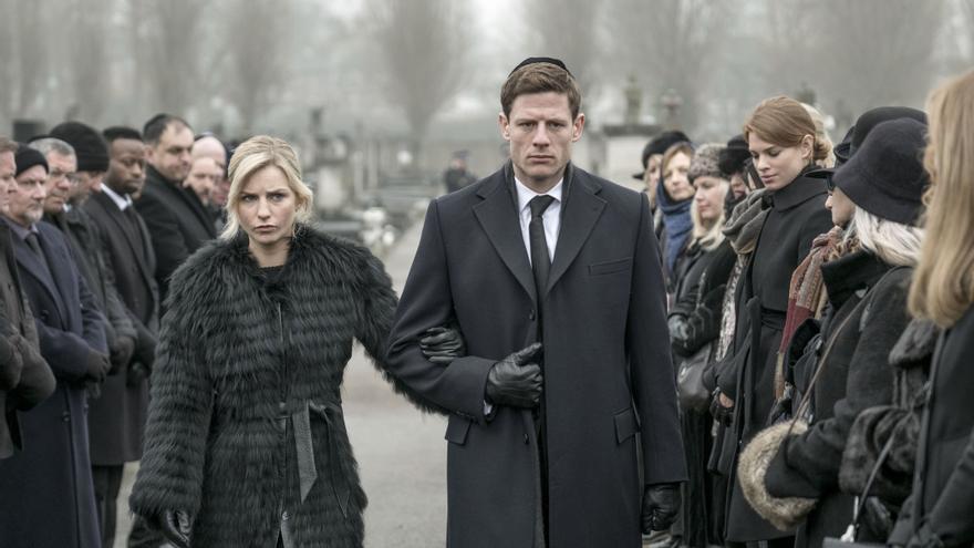 Escena de la serie de BBC 'McMafia'.