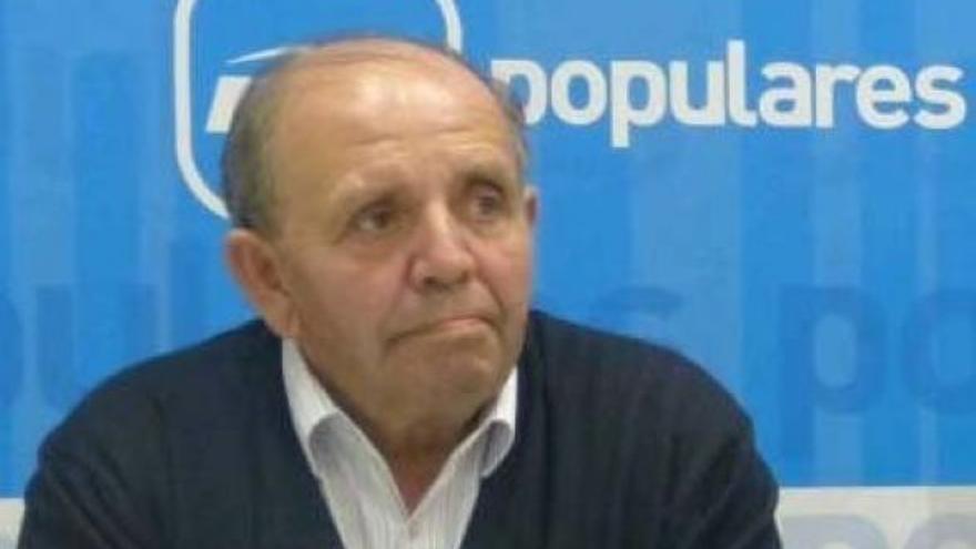 Acisclo Jiménez, alcalde de Almendros (Cuenca)