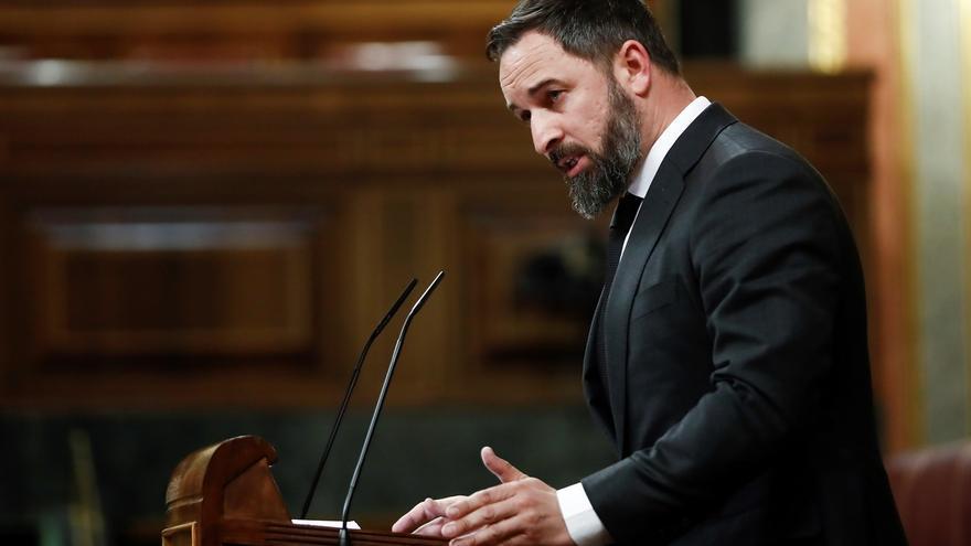 Abascal dice que Vox donará íntegramente la subvención del Grupo Parlamentario de marzo y abril a víctimas