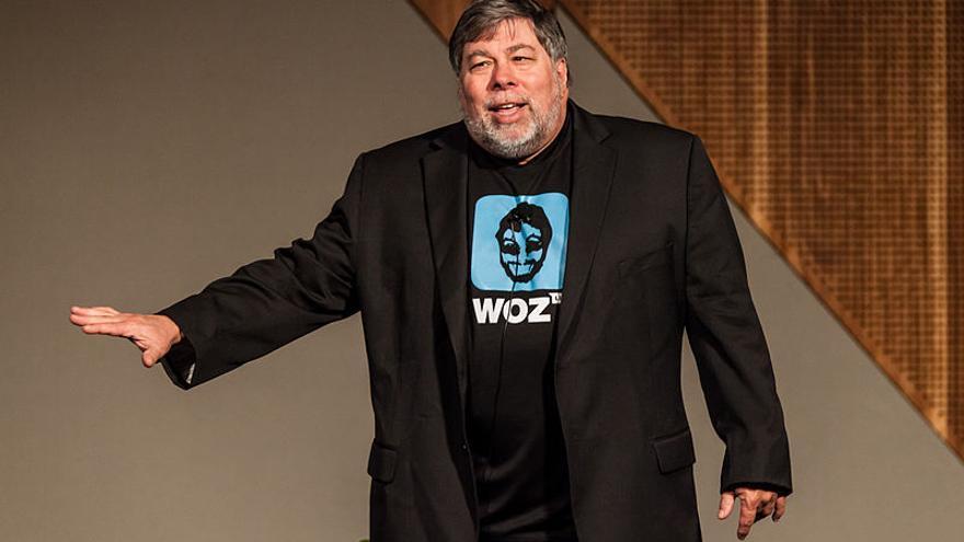 Steve Wozniak en 2012. Foto: Nichollas Harrison / Wikimedia Commons.