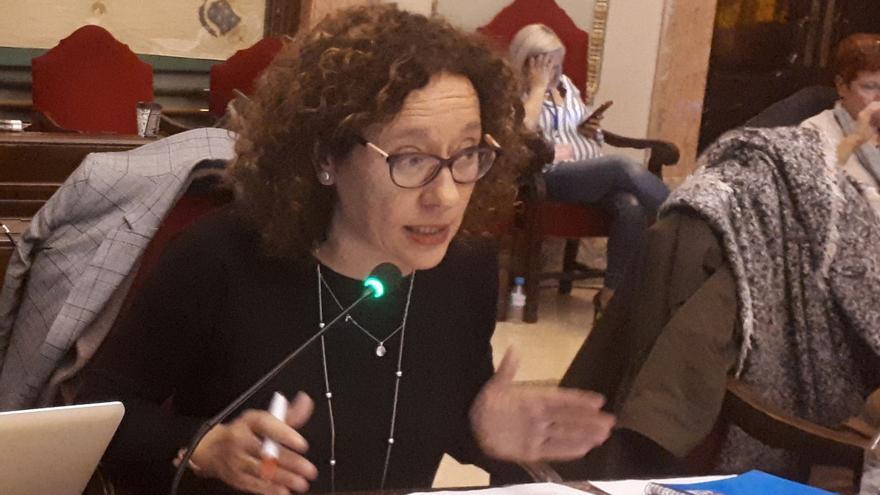 Alicia Morales, concejala de Ahora Murcia