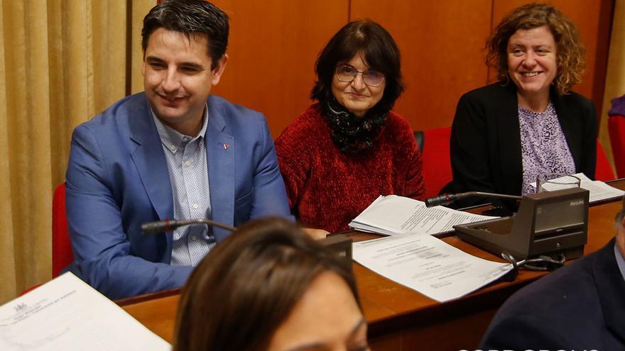 Concejales de IU en el Ayuntamiento | ÁLEX GALLEGOS