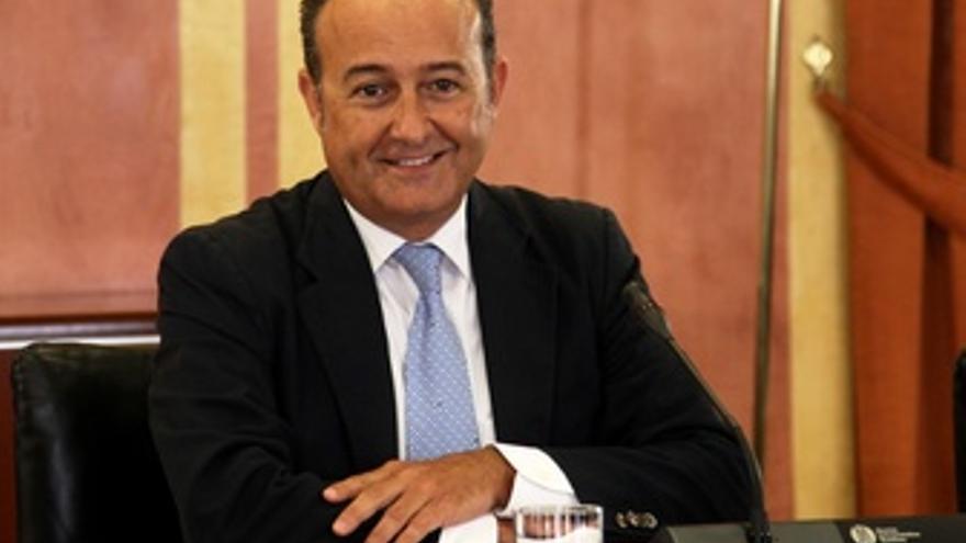 Martín Soler, en la comisión de los ERE