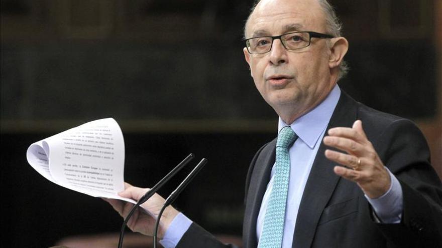 """Montoro asegura que la amnistía fiscal """"no encubre el delito cometido"""""""