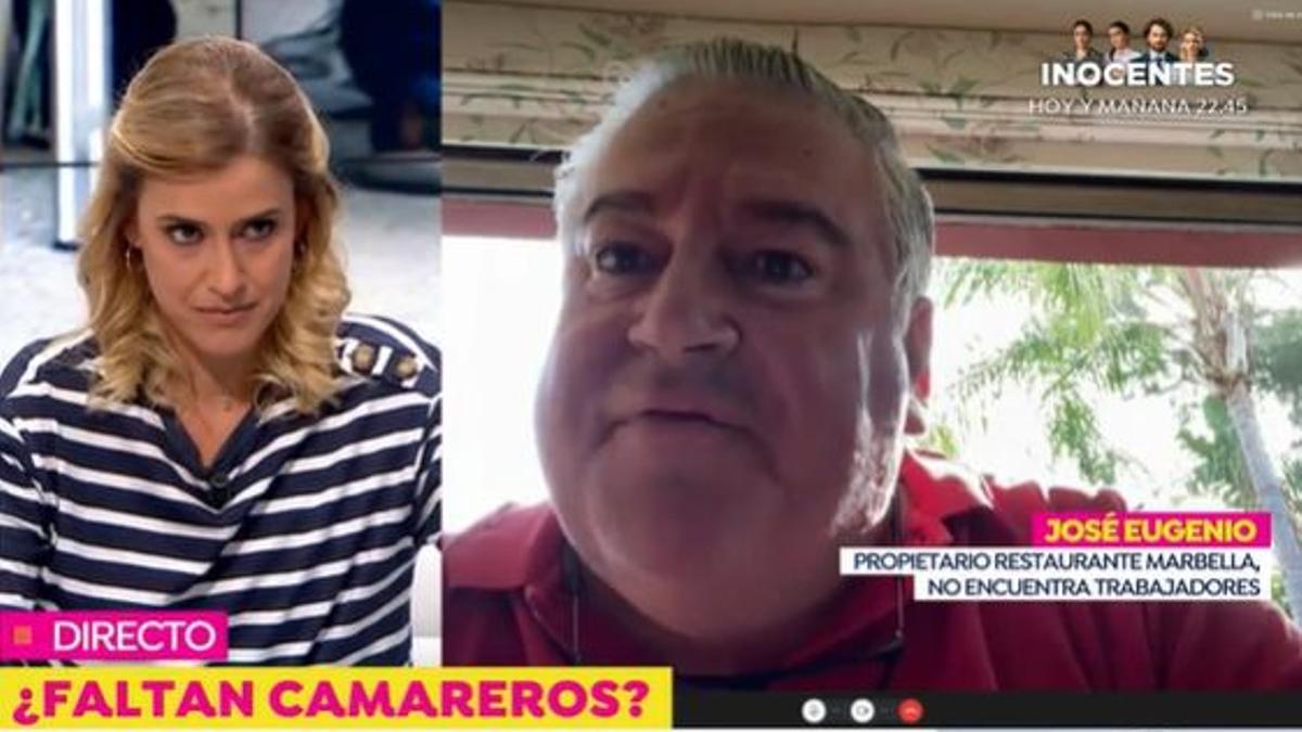La entrevista de 'Espejo Público' a José Eugenio
