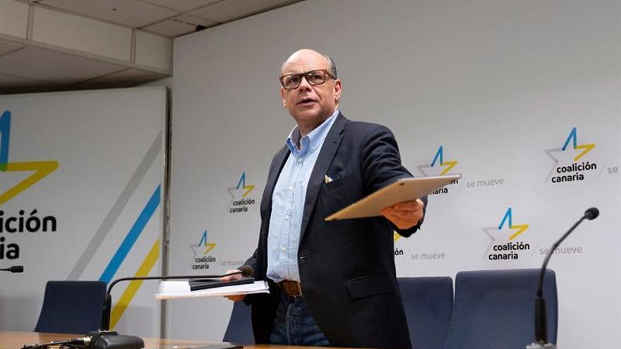 José Miguel Barragán, secretario general de Coalición Canaria.