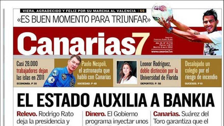 De las portadas del día (08/05/2012) #2