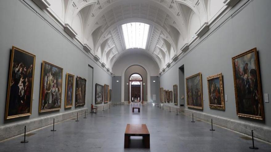 Los museos empiezan a reabrir, pero Prado, Thyssen y Reina lo harán en junio