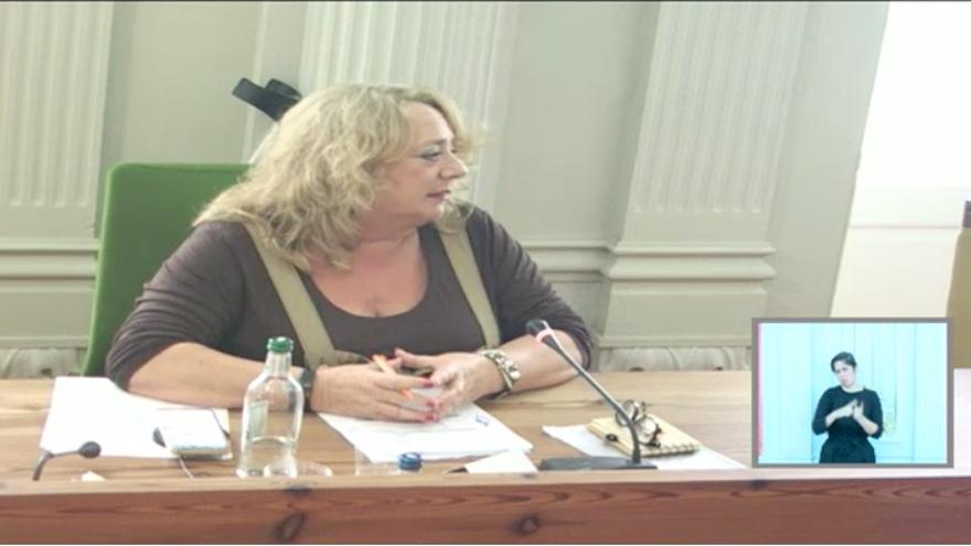 Beatriz Correas, concejala del Ayuntamiento de Las Palmas de Gran Canaria.