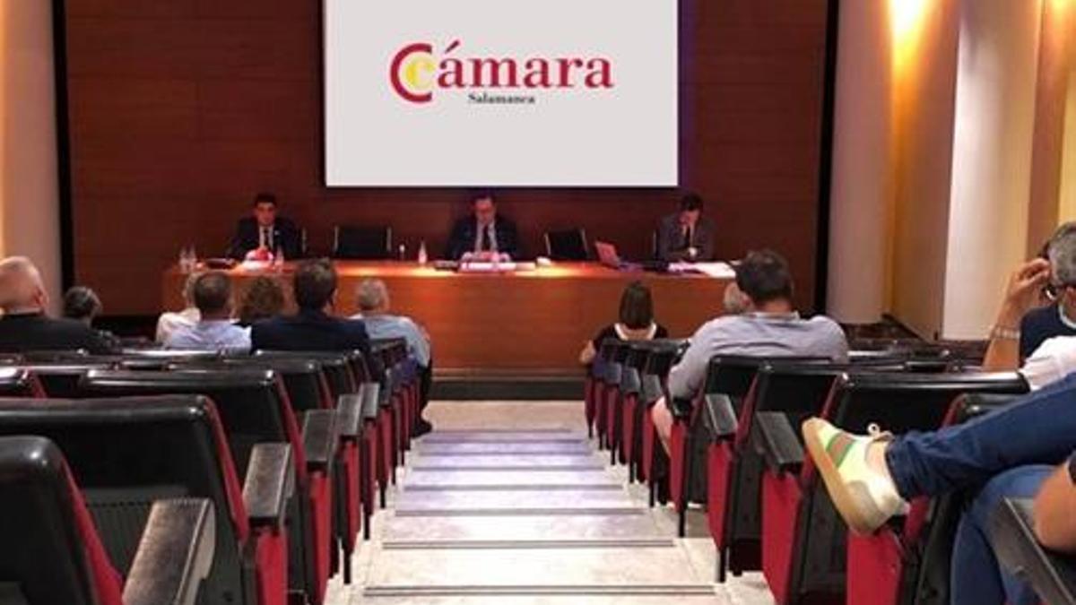 La Cámara de Comercio de Salamanca.