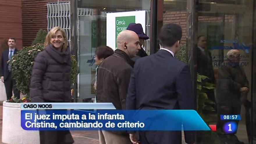 """""""El juez imputa a la infanta Cristina, cambiando de criterio"""" dice TVE. La Casa del Rey dijo estar sorprendida """"por el cambio de posición"""". Interesante coincidencia"""
