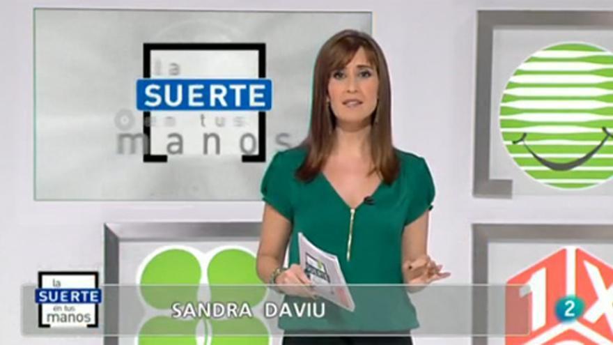 """Sandra Daviú vuelve a la TV con """"La suerte en tus manos"""""""