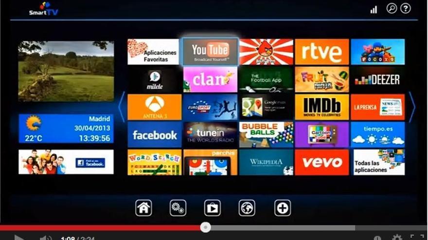 YouTube para smart TV
