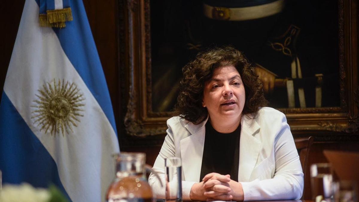 Carla Vizzotti, la ministra de Salud