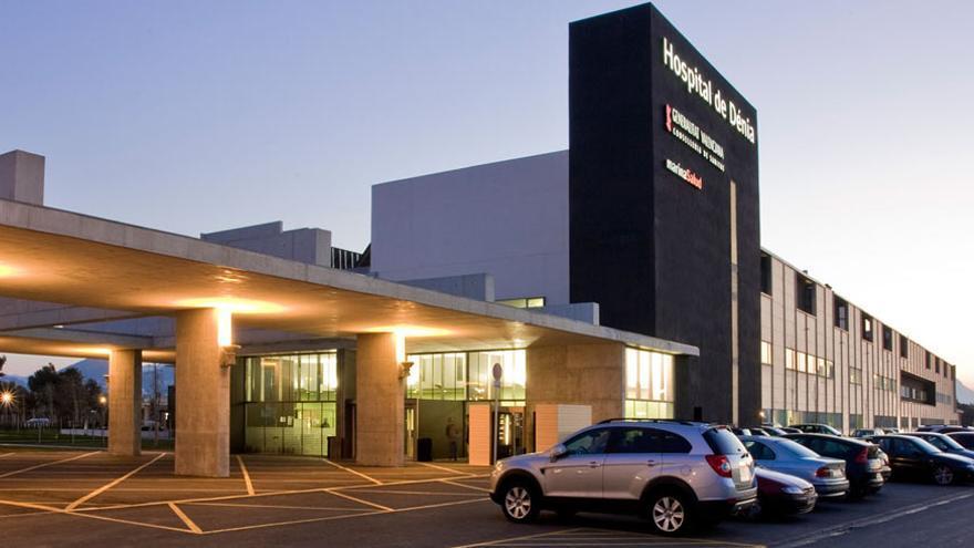 Hospital de Dénia, gestionado por Marina Salud.