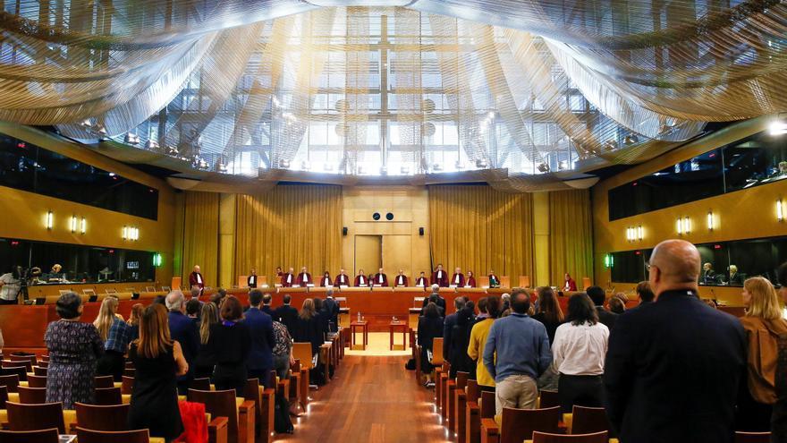 Vista del caso prejudicial de Oriol Junqueras en el Tribunal de Justicia de la UE, en Luxemburgo.