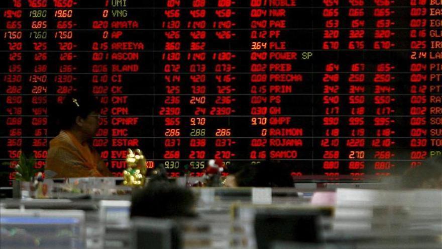 Las bolsas del Sudeste Asiático inician la semana al alza, salvo Malasia