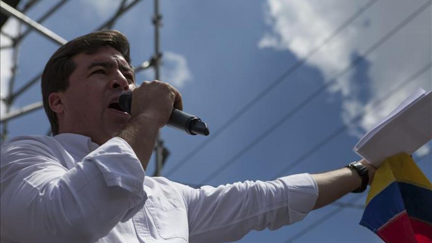 Trasladan al opositor venezolano Ceballos a una cárcel civil, según su defensa