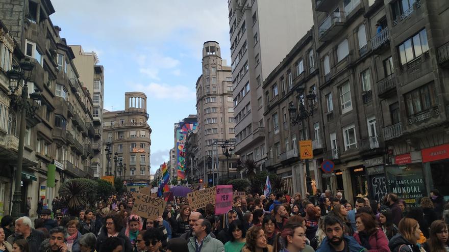 Manifestación en Vigo el 8M