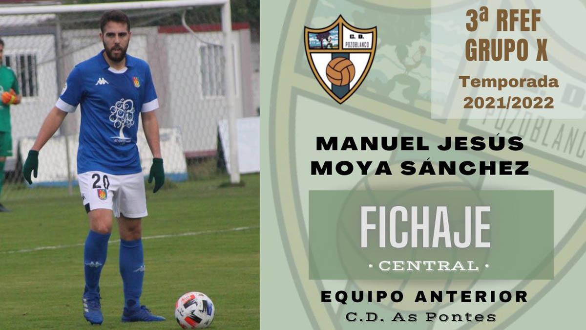 Manu Moya, nuevo fichaje del Pozoblanco