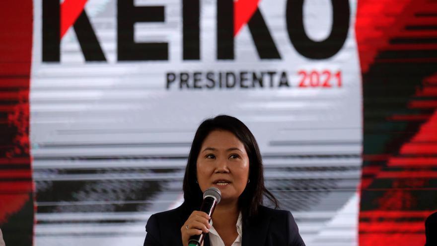 Keiko Fujimori asistirá este sábado a una marcha de sus seguidores en Lima