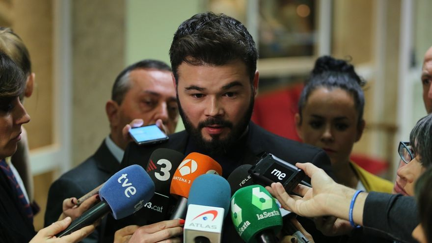 """Homs, """"feliz"""" de que el Congreso derogue la """"atrocidad"""" del PP que convirtió al TC en un tribunal """"postfranquista"""""""