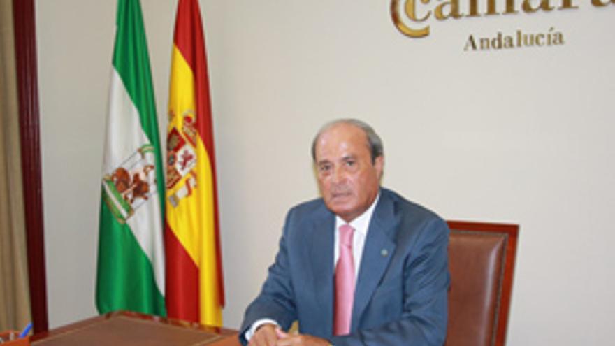 Antonio Ponce, presidente del Consejo de Cámaras de Comercio de Andalucía