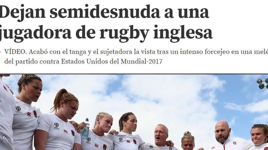 Machismo en el deporte