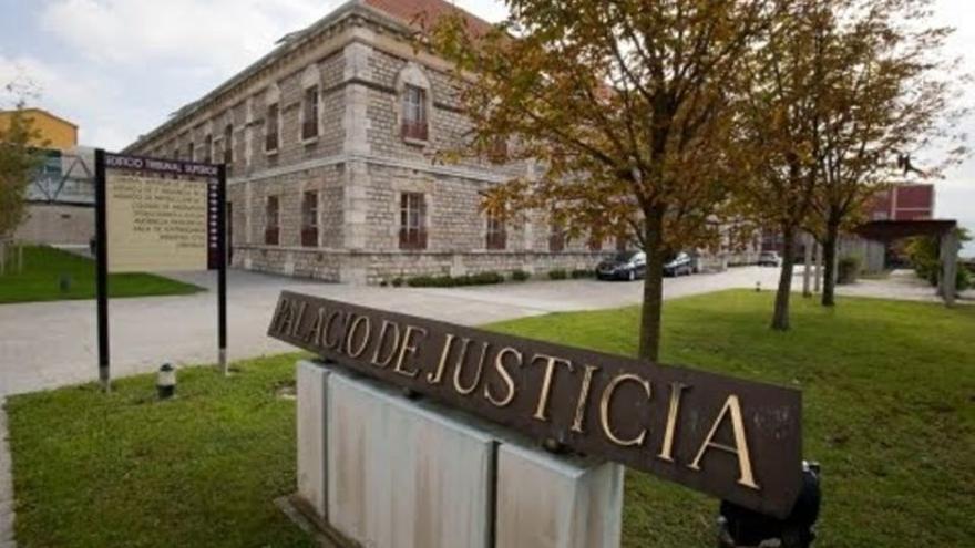 Complejo judicial de Las Salesas, en Santander. | EFE