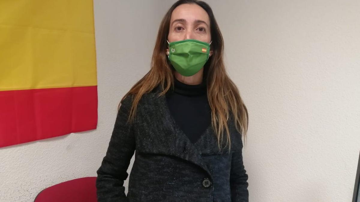 La portavoz de Vox, Paula Badanelli.