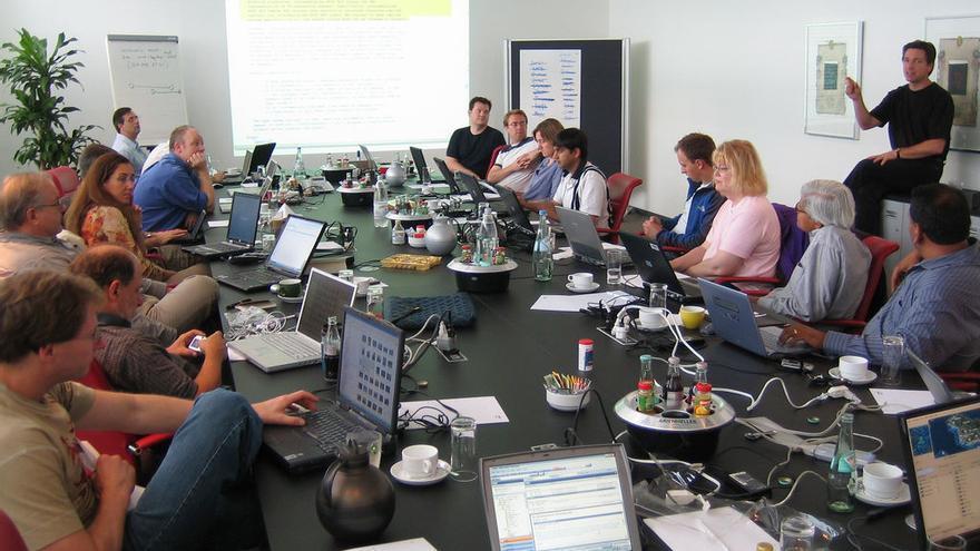 Una reunión del W3C