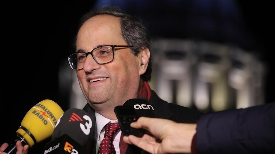 """Torra advierte de que explicará la """"gravedad"""" de la situación catalana en todo el mundo"""