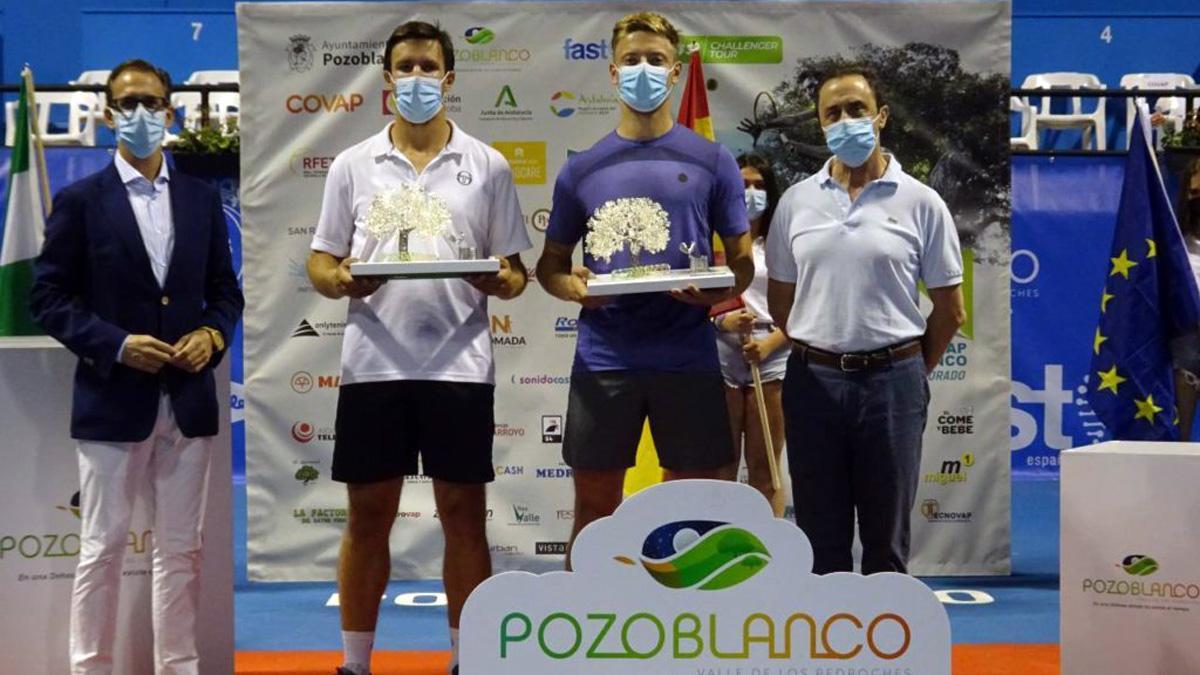 Dupla campeona del Open Ciudad de Pozoblanco