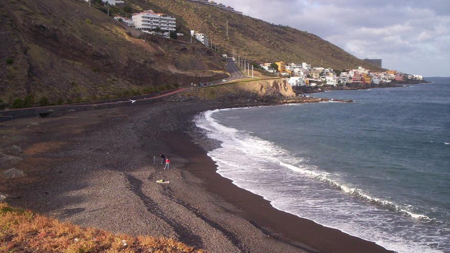 Playa de La Nea, en la localidad de Radazul (El Rosario).