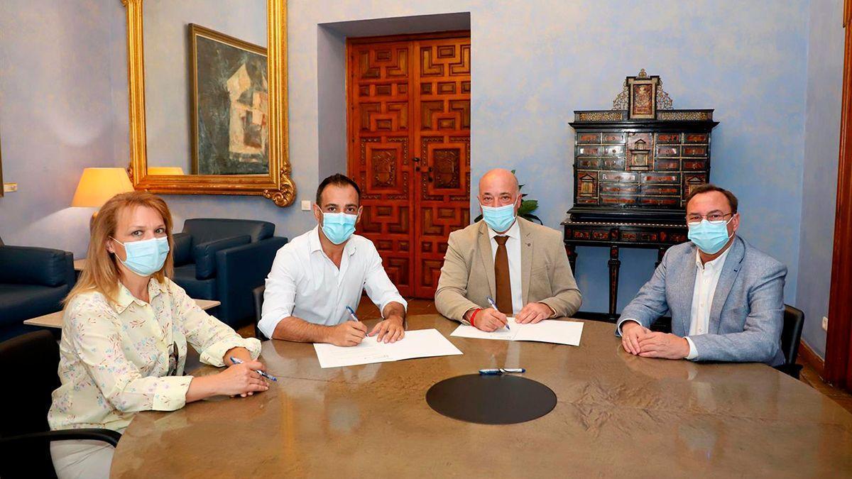 Acuerdo entre Epremasa y Cañete de las Torres.