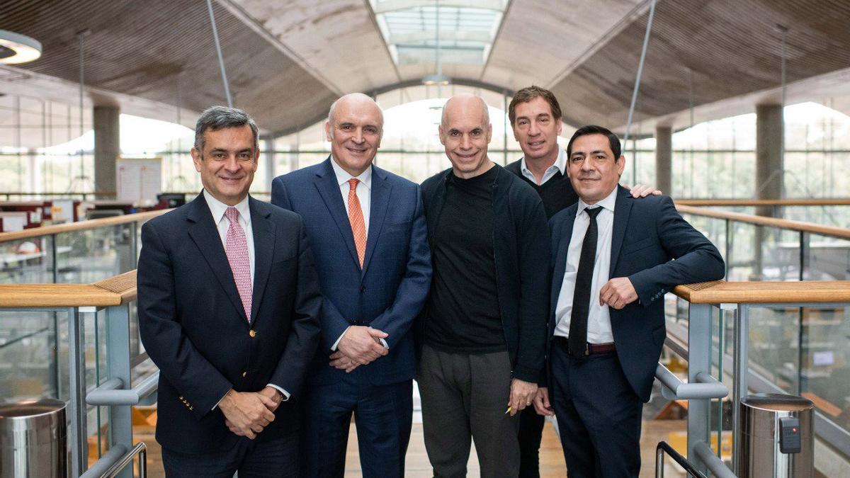 Espert y Rosales ya habían apoyado a Larreta en la campaña porteña de 2019