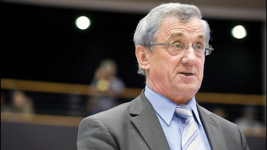 Albert Dess, eurodiputado alemán de la CDU. Foto: Parlamento Europeo