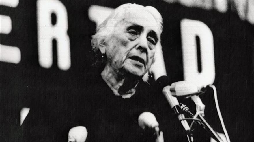 La Fiesta del PCE homenajeará a Pasionaria en el 25 aniversario de su muerte