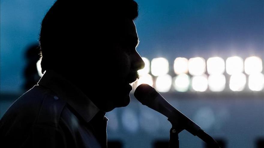 """Maduro llama a sus partidarios a ganar los comicios """"con la fuerza de Chávez"""""""