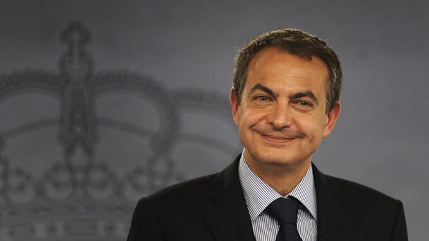 José Luis Rodríguez Zapatero, en una imagen en La Moncloa.