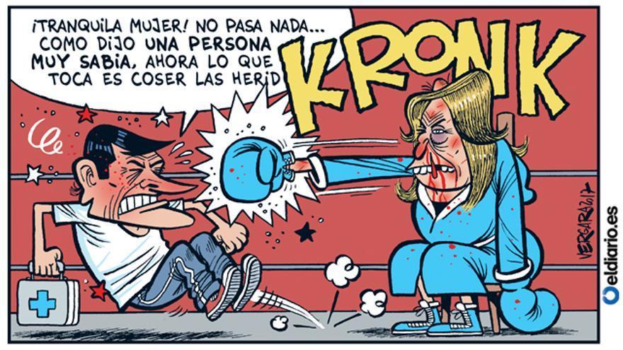 Ganó Sánchez