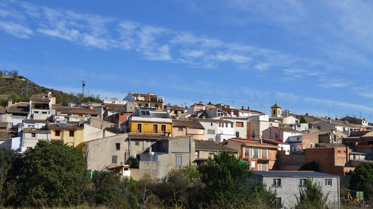 La localidad de Quatretondeta, en la comarca de El Comtat.