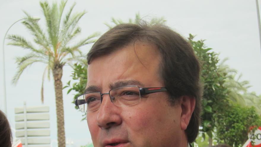 """Vara considera que la asignatura """"fundamental"""" de Extremadura es """"dar trabajo a su gente"""""""